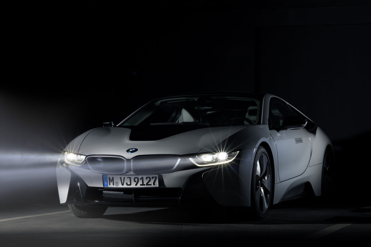Image result for BMWi8 头灯