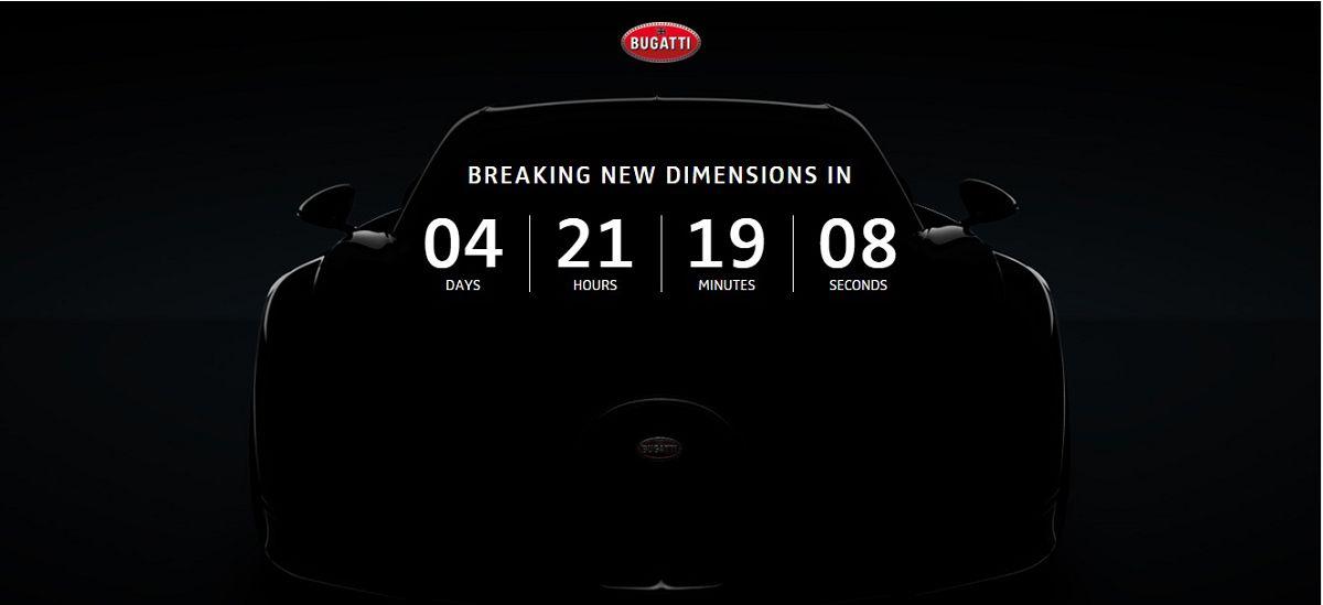 地表极速467 km/h,Bugatti Chiron发射倒数开始