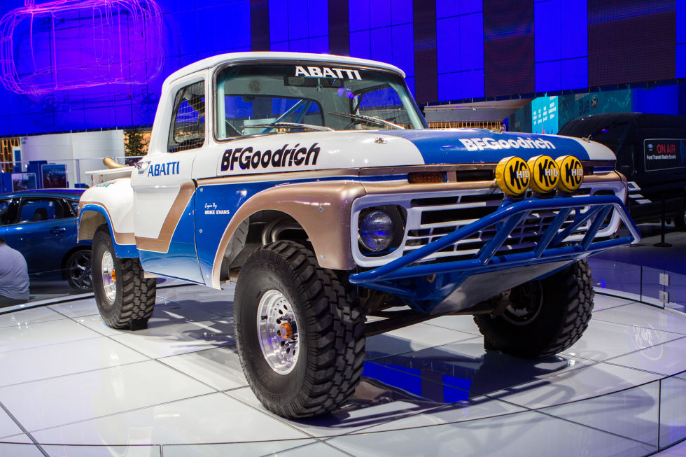 Off Road Car Made By Ford On Horizon Game