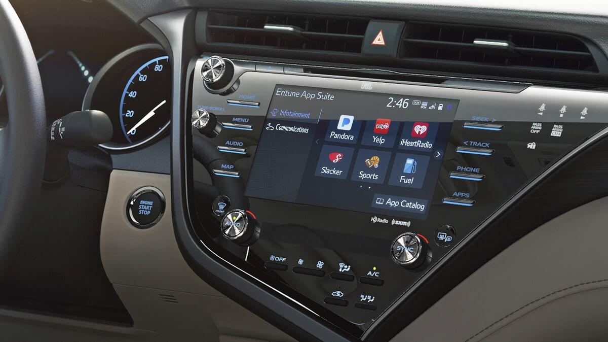 Toyota推出entune 3 0 將率先搭載於下一代camry Carstuff 人車事