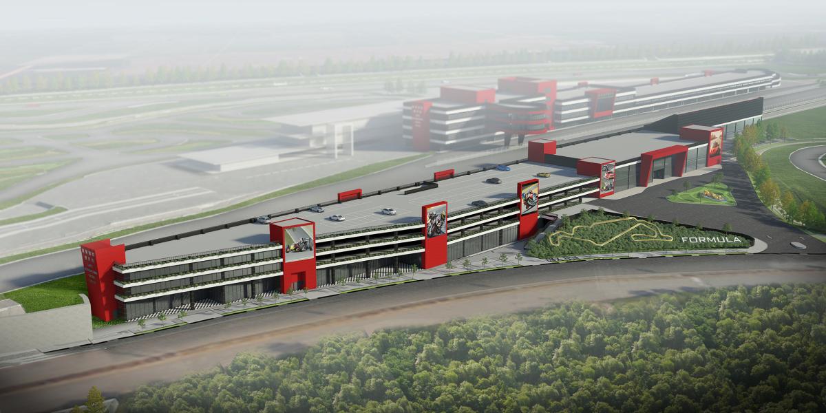 麗寶國際賽車場-迎賓大樓.JPG