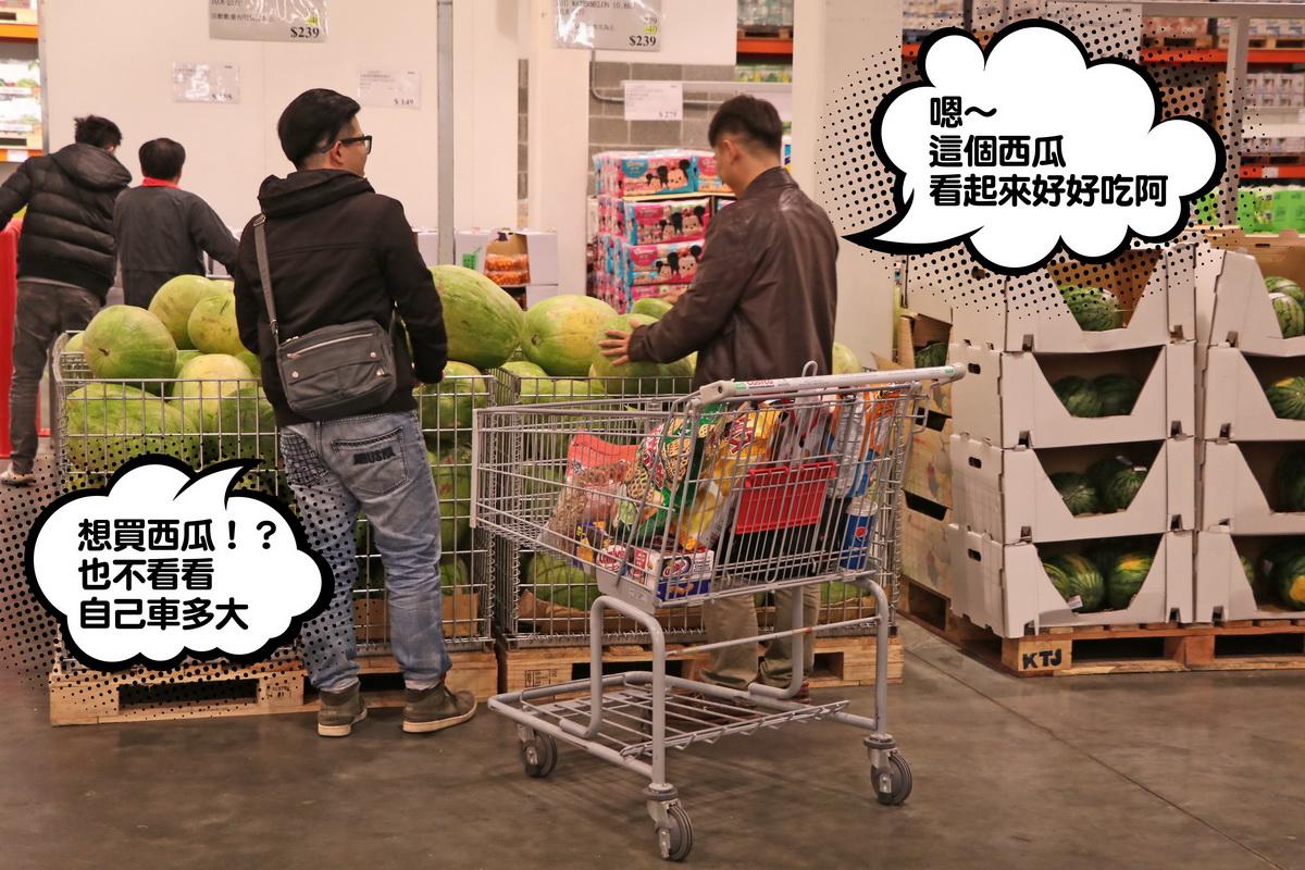 11.左:想買西瓜!?也不看看自己車多大 右:摁~這個西瓜看起來好好吃阿~.jpg
