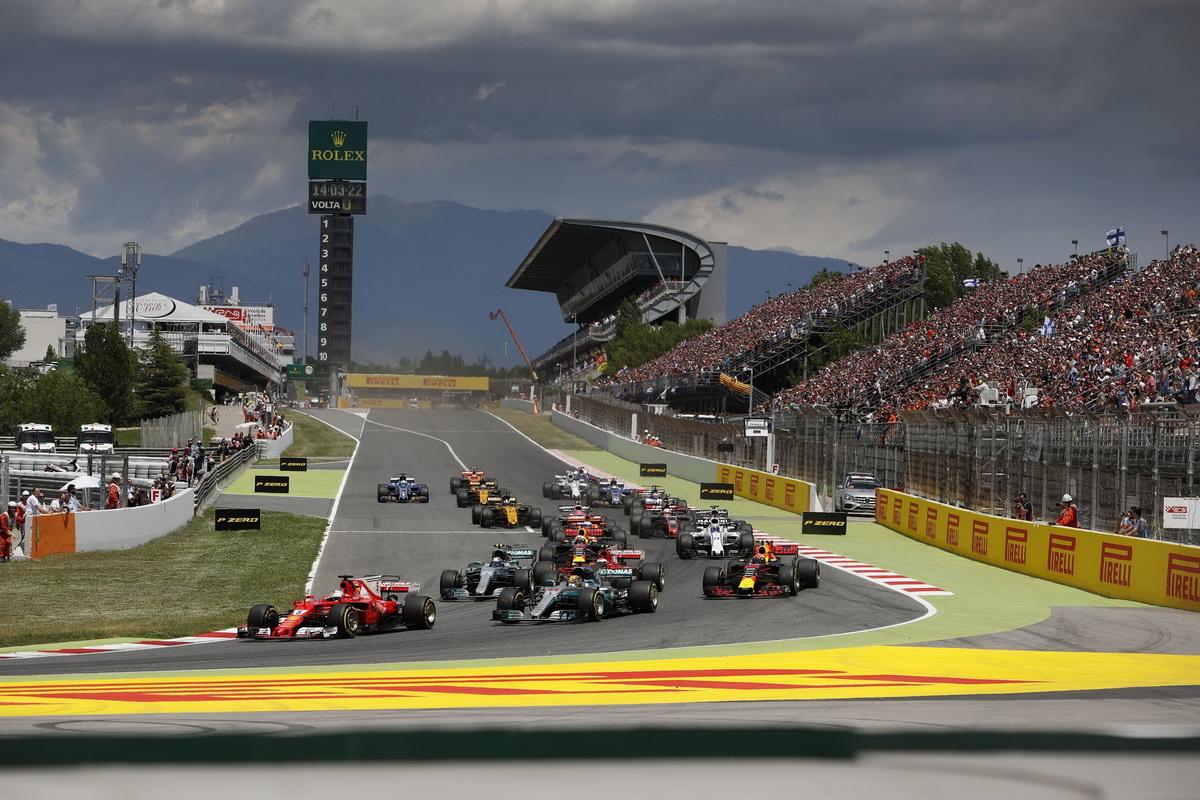 西班牙站賽事於巴塞隆納的Catalunya賽道舉辦,諸多車隊選擇此站將自家賽車進行強化動作,添增本站賽事可看度.jpg
