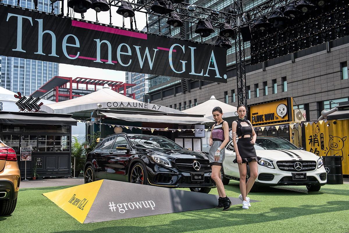 台灣賓士於今日(5月23日)正式在台發表The new GLA,全面升級的外觀與內裝套件再次突破框架,呈現不止於此.jpg