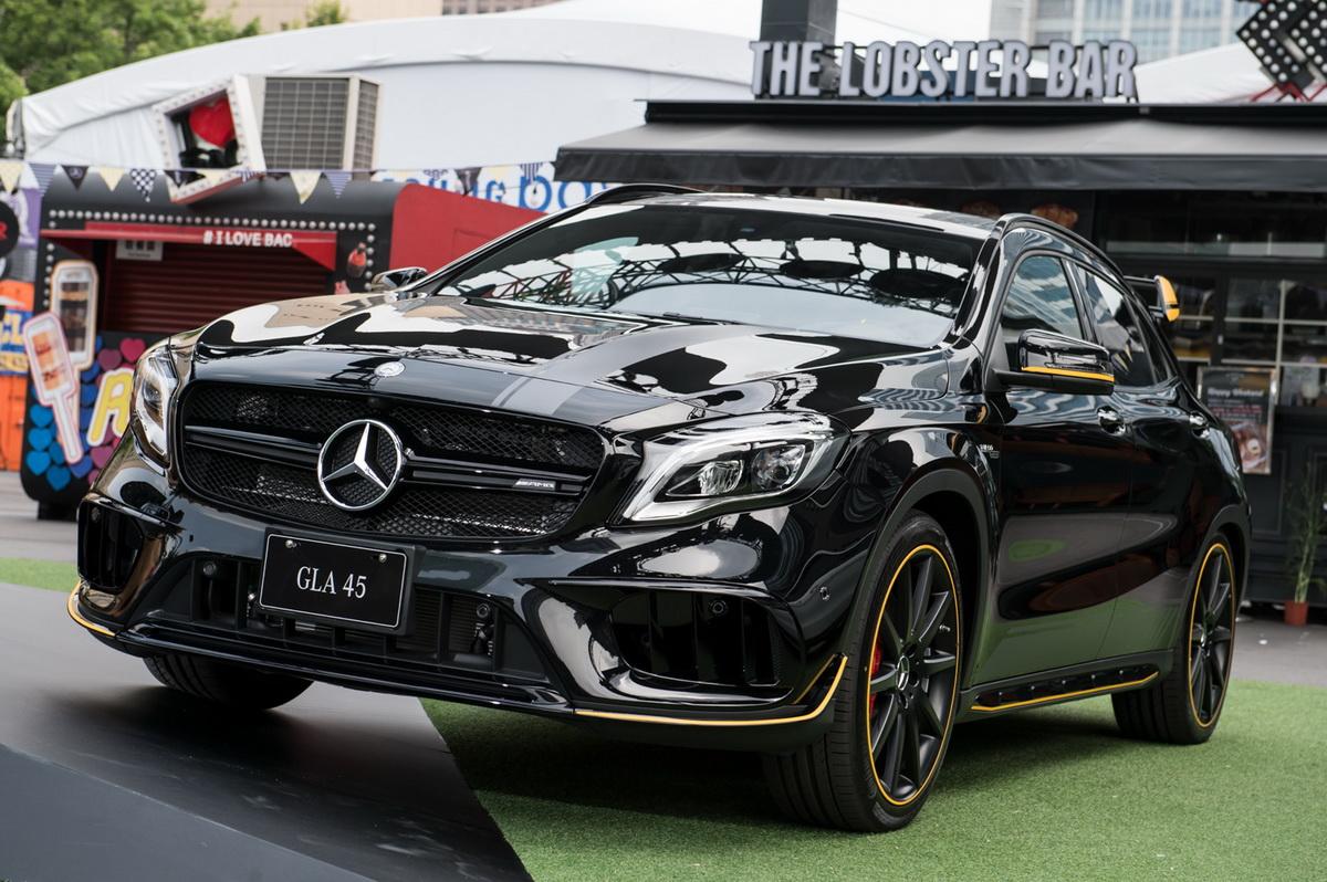 Yellow Night Edition特仕版套件將提供予 Mercedes - AMG 45車系,即日起可於AMG Performance Center訂購.jpg
