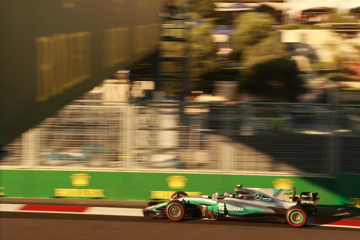 Valtteri Bottas成功攻佔頒獎台,讓Mercedes-AMG Petronas Motorsport車廠積分排行榜的領先位置持續擴大.jpg