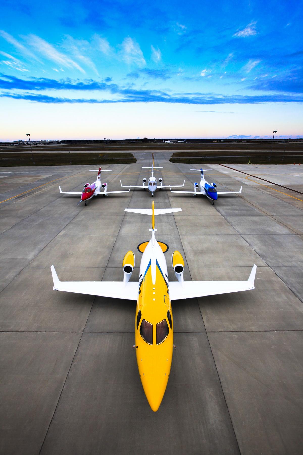 HondaJets on Honda Aircraft Apron.jpg