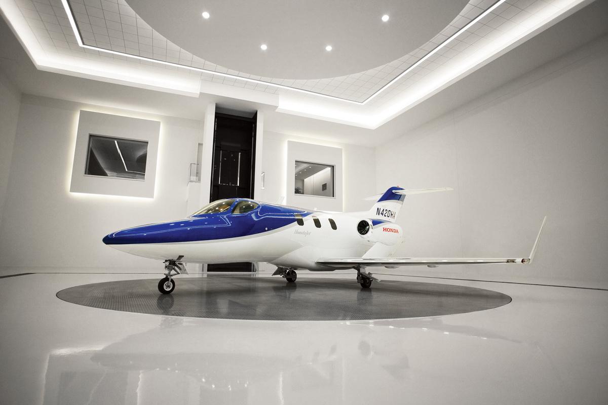 Proof of Concept HondaJet in Delivery Hangar.jpg