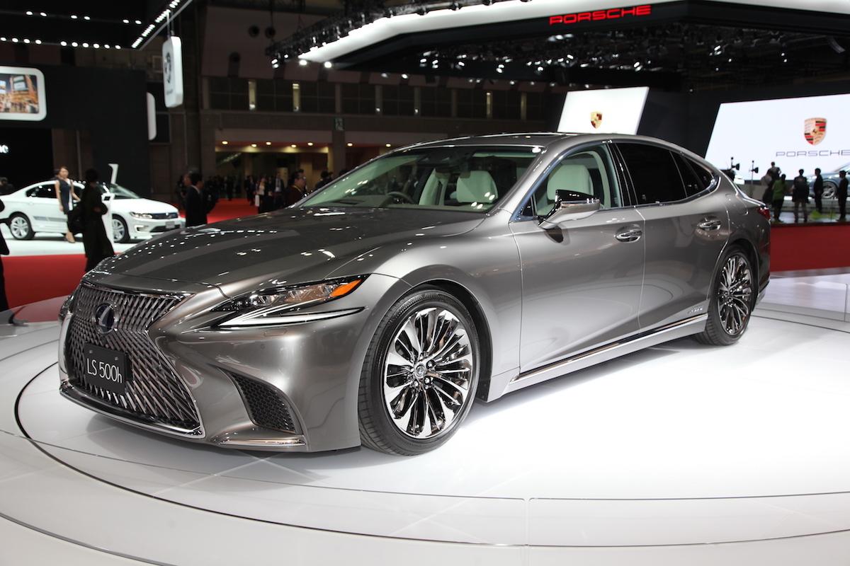 東京車展直擊 2020 自動駕駛量產化實現雛形lexus Ls Concept