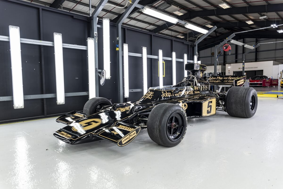 Classic Team Lotus loaned an interesting addition for MerryDriftmas filming, an iconic Lotus 72.jpg