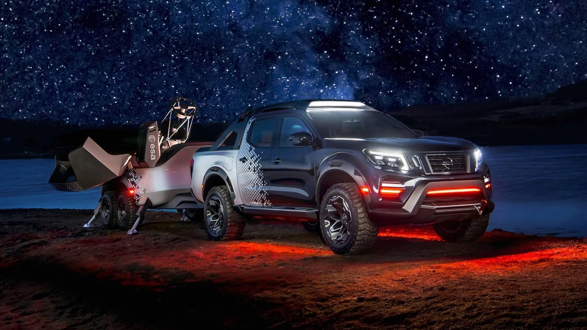 行動天文望遠鏡概念的實踐 Nissan Navara Dark Sky Concept