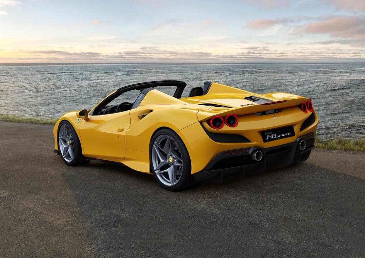 Ferrari推出f8 Spider 就是f8 Tributo敞篷款啦 Carstuff 人車事