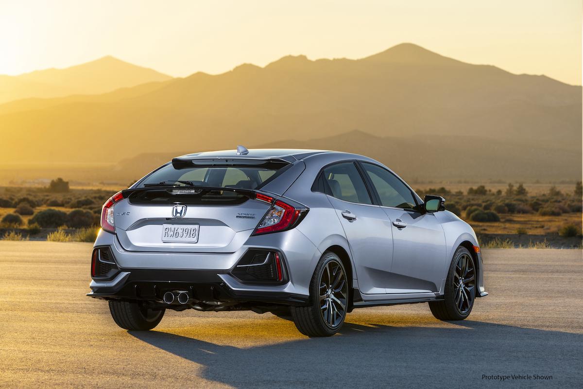 造型小幅修飾 Si 車型終傳齒比加大6 強化加速反應 Honda Civic