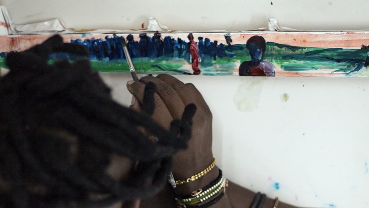 In progress_Nelson Makamo Painting Dash Panel.jpg