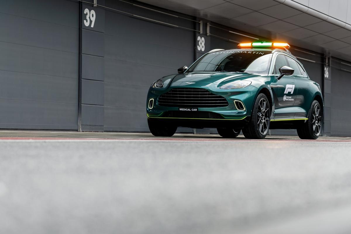 Aston Martin DBXOfficial Medical Car of Formula One12.jpg