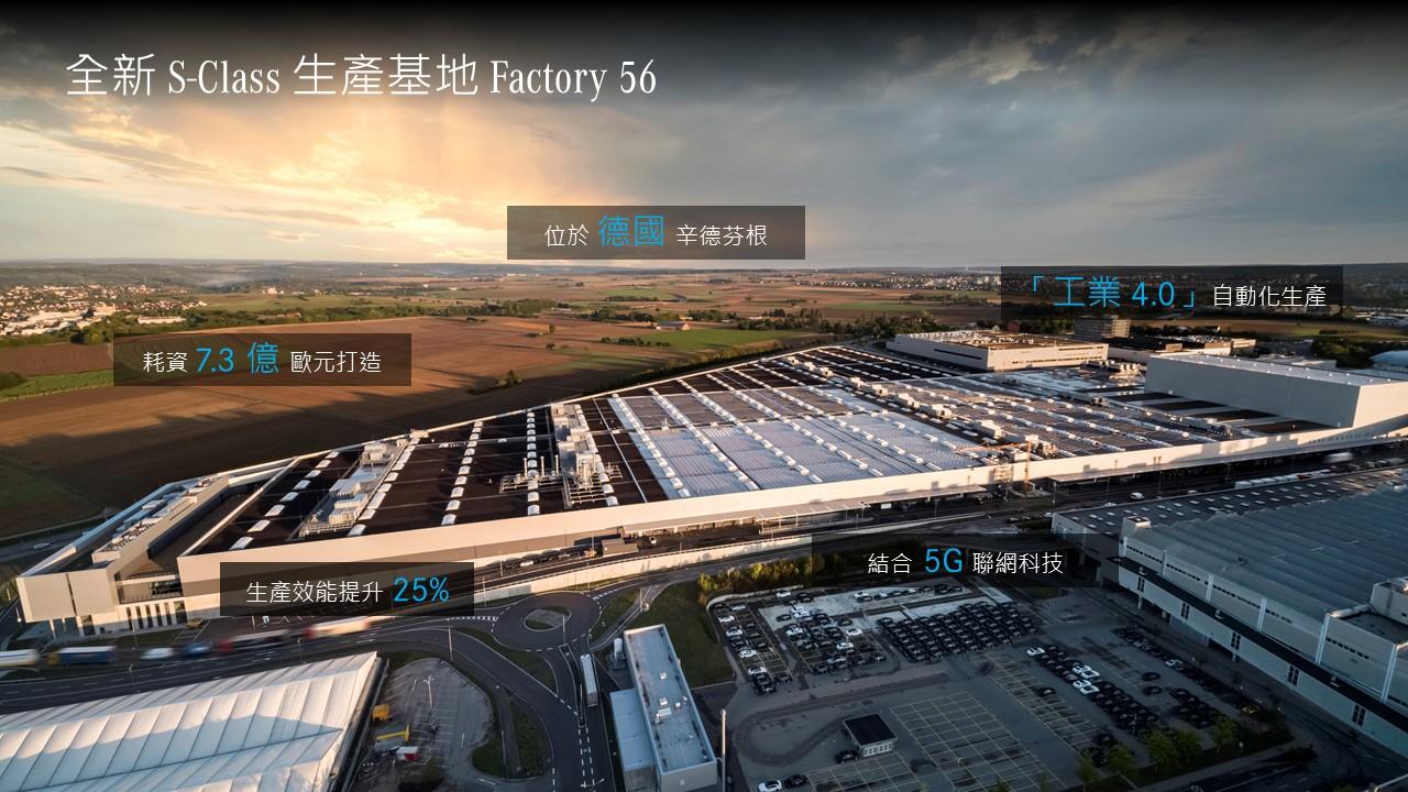 圖1_全新 S-Class 誕生於世界上最先進的生產基地 Factory 56.jpg