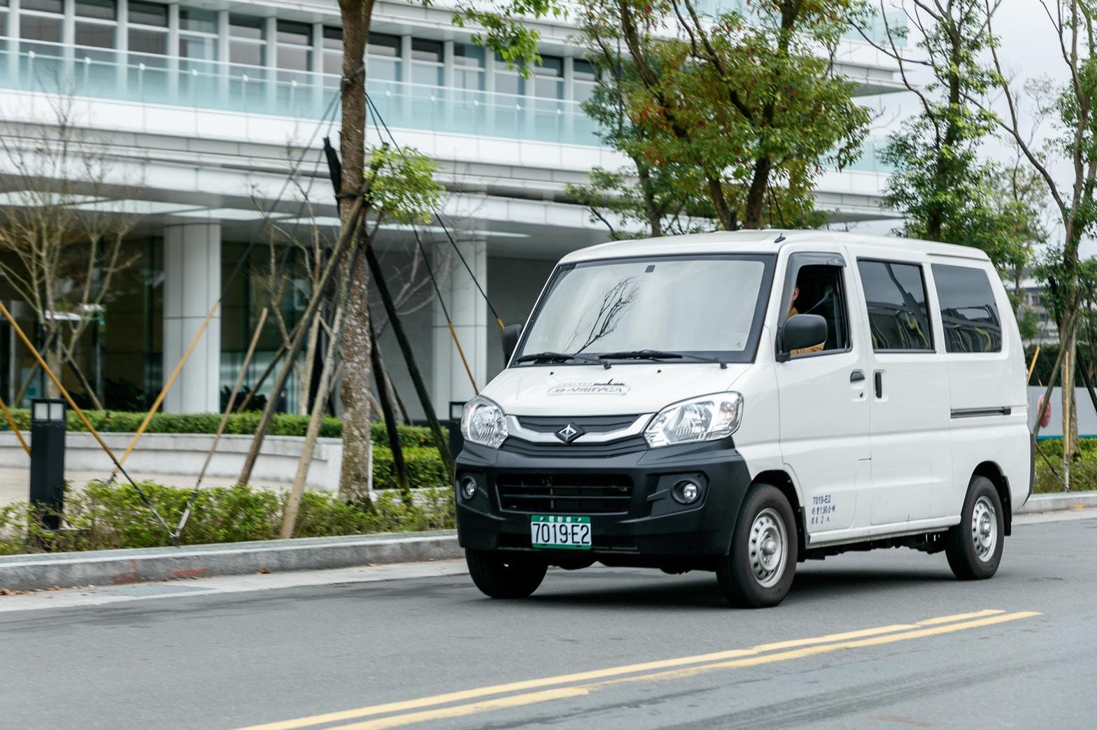 電動商用車在台上市    中華菱利e-VERYCA低碳運行更環保  .jpg