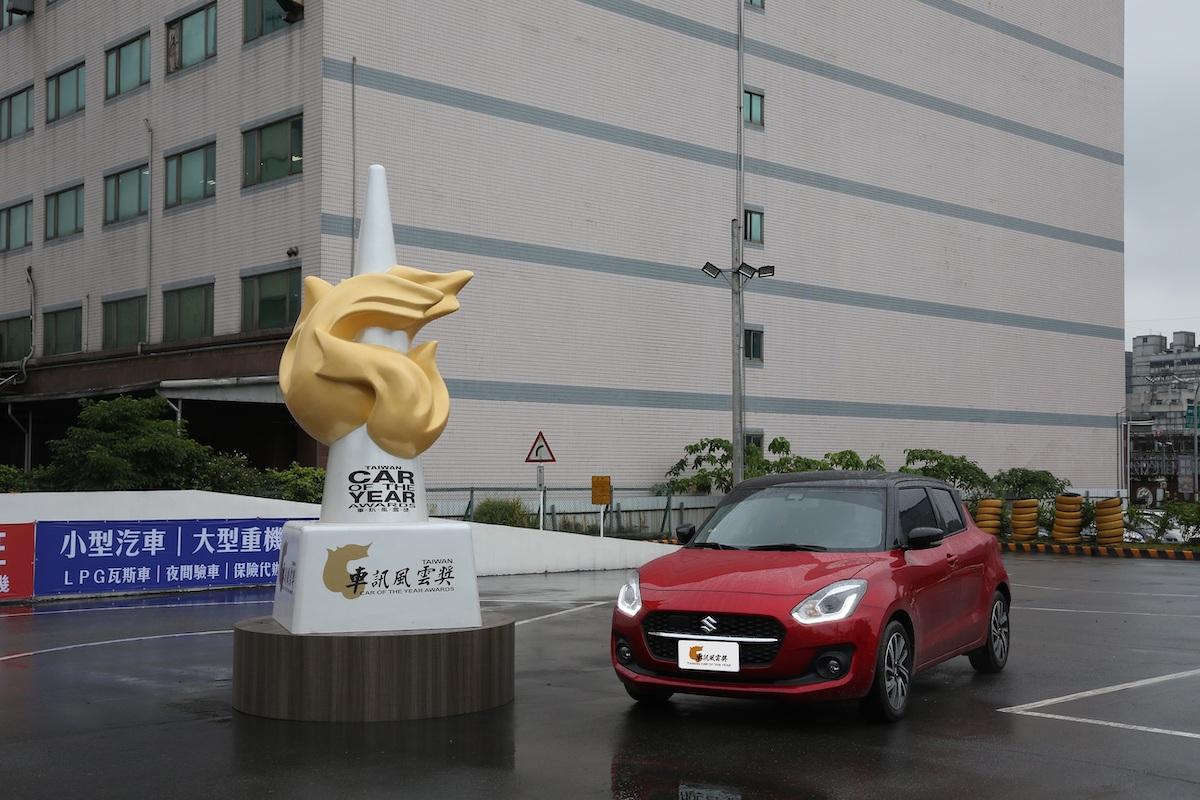 06 2021最佳進口小型車 Suzuki Swift Hybrid.JPG
