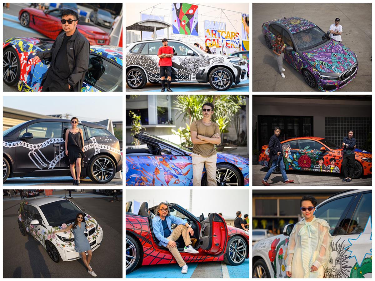 [新聞照片二] BMW Taiwan LINE官方公益貼圖由「BMW世界無邊藝術計畫」的九組藝術家所創作,希望為社會傳遞更多愛與關懷.jpg