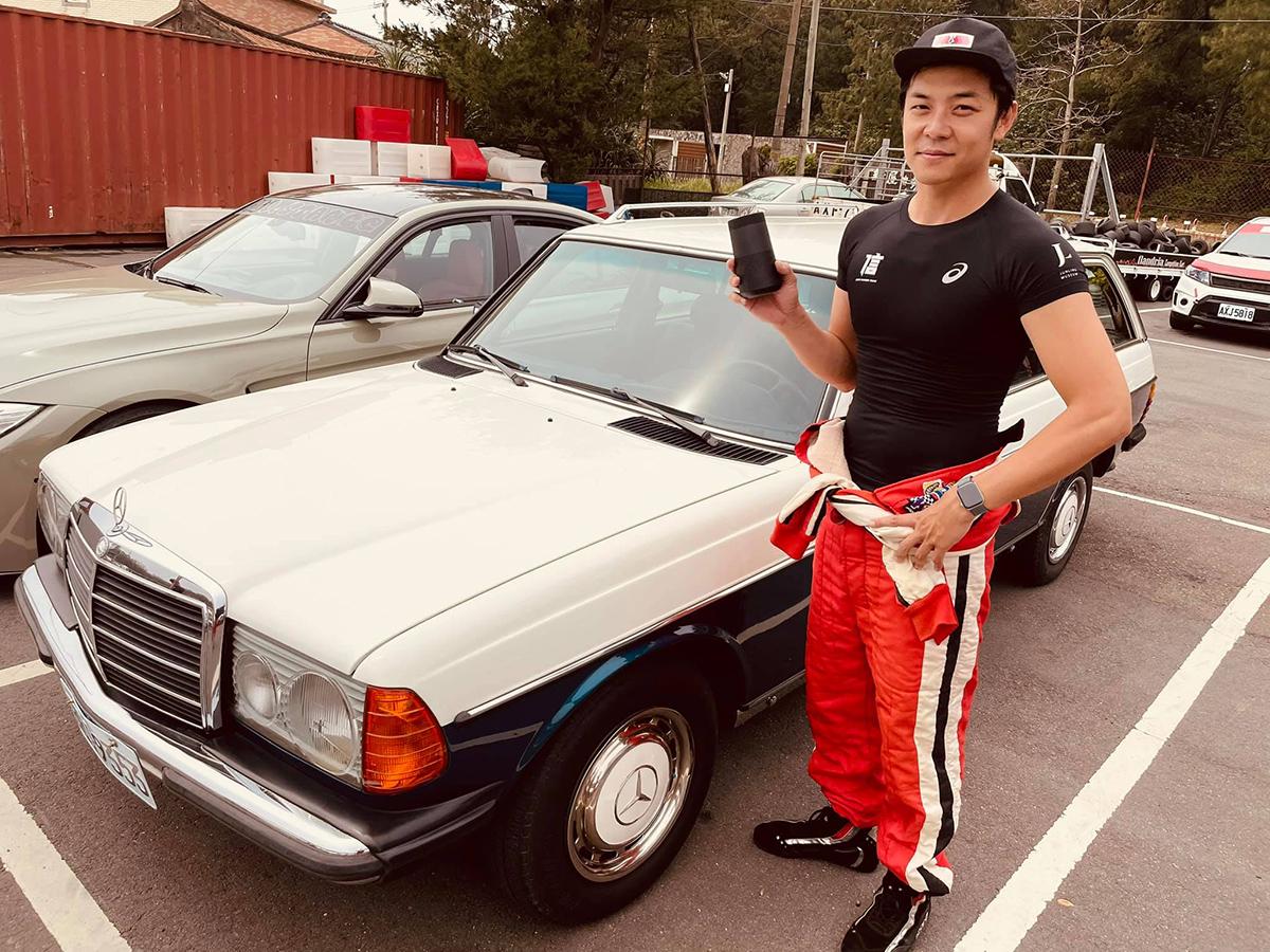 姚元浩將參加5_1在麗寶賽道舉辦的超級房車挑戰賽。圖片取自姚元浩臉書。.jpg